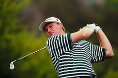 Ernie Els Professional Golfer. Professional golfer Ernie Els.(Image taken from color slide Stock Photography