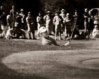 Ernie Els - soute a tiré - 17ème - NGC2010 Images libres de droits