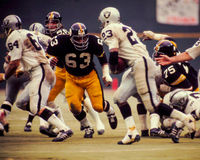 Ernie Holmes Питтсбург Steelers стоковое изображение