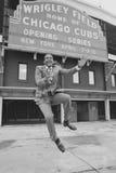 Ernie incassa Chicago Cubs Fotografie Stock Libere da Diritti