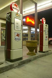 Ernie's Old Mobil Gas Station Stock Photography