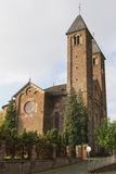 Ernst, Germany, Europe. Church of the Moselle village Ernst on a dull autumnal day, Germany, Europe Stock Images