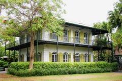 Ernst Hemingway's dziejowy dom Zdjęcia Royalty Free