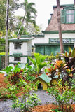 Ernst Hemingway's historical house. Ernst Hemingway's house in Key West, Florida, USA Stock Photos