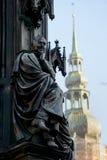 Ernst Moritz Arndt on Rubenowdenkmal Royalty Free Stock Images