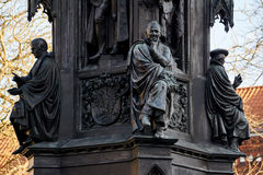 Ernst Moritz Arndt on Rubenowdenkmal University Greifswald Stock Image