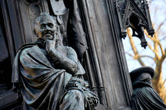 Ernst Moritz Arndt on Rubenowdenkmal University Greifswald Royalty Free Stock Images