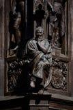 Ernst Moritz Arndt sculpture. In Greifswald Royalty Free Stock Image