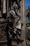 Ernst Moritz Arndt sculpture. In Greifswald Royalty Free Stock Images