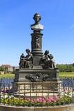 Ernst Rietschel Memorial in Dresden, Saxony Royalty Free Stock Photography