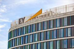Ernst and Young, Stuttgart Stock Images