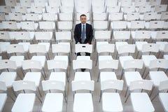 Ernster Arbeitgeber Lizenzfreies Stockfoto