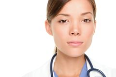 Ernster junger Arzt Lizenzfreie Stockbilder