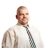 Ernster Mann Lizenzfreies Stockfoto