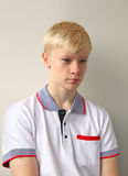 Ernster Teenager Stockfoto