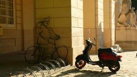 Ernstes Fahrrad Stockfotos