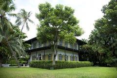 Ernsthaftes Hemingway Haus in Key West Flroida Lizenzfreies Stockbild