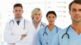 Ernstig Medisch Team stock videobeelden