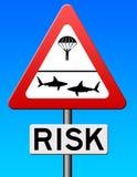 Ernstig risico royalty-vrije illustratie
