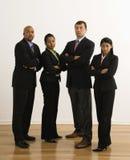 Ernstige businesspeople. royalty-vrije stock fotografie