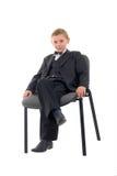 Ernstige Jonge Mens. Royalty-vrije Stock Afbeelding