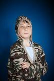 Ernstige tiener Stock Foto