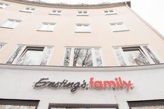 Ernsting's family Royalty Free Stock Photos
