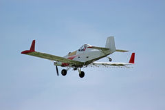 Ernte-Staubtuch-Flugzeug Stockfoto