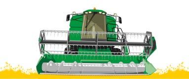 Erntemaschine Lizenzfreie Stockbilder
