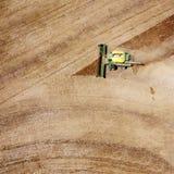Erntemaschine lizenzfreies stockfoto