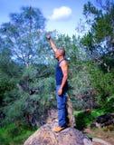 Eroberung der Natur Lizenzfreies Stockbild