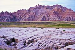 Eroded Badlands Soils Stock Photography