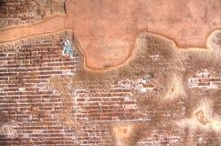 Eroded Brick Wall Texture Royalty Free Stock Photo