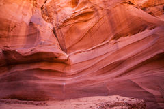 Eroded Canyon Walls Stock Image