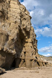 Eroded Cliff face on the Jurassic Coast in Dorset Stock Photography