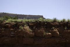 Eroded Cliff Royalty Free Stock Photography