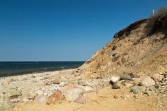 Eroded coastline Stock Photography