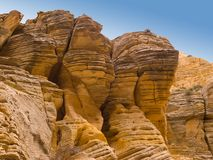 Eroded Desert Cliffs Royalty Free Stock Image