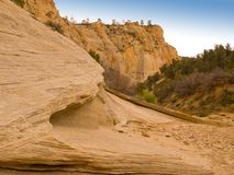 Eroded Desert Cliffs Royalty Free Stock Photo