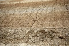 Eroded earth texture. Geology and environment, climate change, rock, background, stone, nature, pattern, natural, soil, abstract, structure, rough, geological royalty free stock images