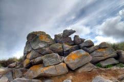 Eroded granite Royalty Free Stock Image