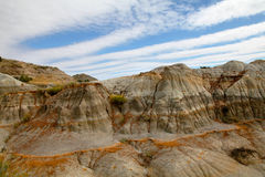 Eroded Hills of the Badlands Northern Unit Stock Photography