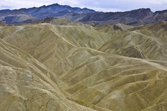 Eroded Landscape - Death Valley, CA Royalty Free Stock Images