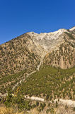 Eroded mountain peak Royalty Free Stock Photography