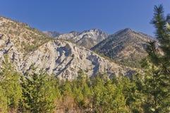 Eroded mountains Stock Photo