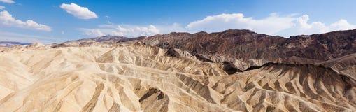 Eroded Ridges At Zabriskie Point, Death Valley National Park, Ca Stock Image