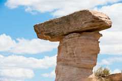 Eroded rock formation Stock Image