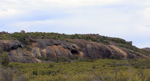 Eroded Rock Formation in Cape le Grand Stock Images