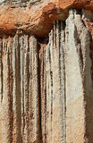 Eroded Rock Formation Detail Royalty Free Stock Photo