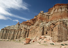 Eroded Rock Formation Royalty Free Stock Photography